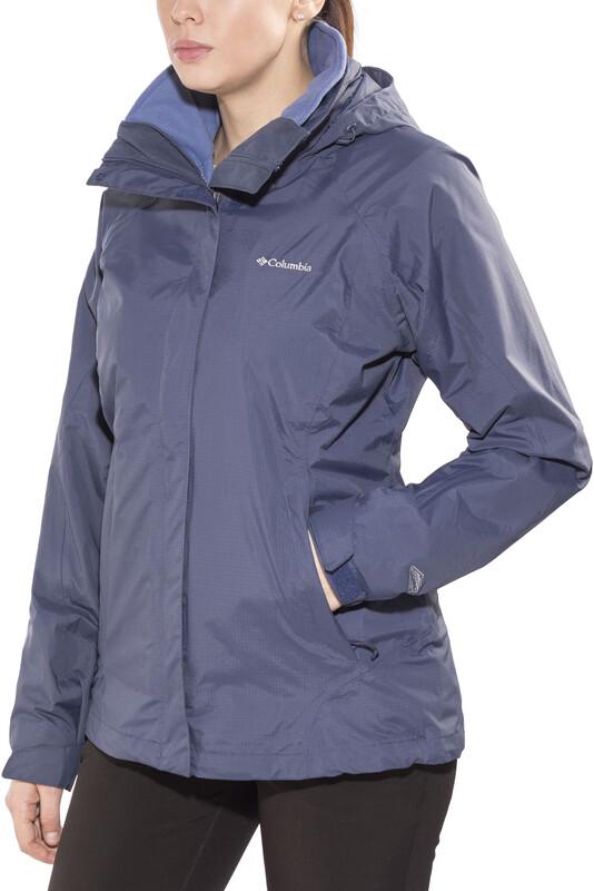 Columbia Venture On Interchange Jacket Women Nocturnal/Bluebell  2017 Skijacken,