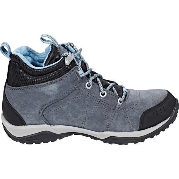 Columbia Fire Venture Mid Waterproof Schuhe Damen graphite/storm