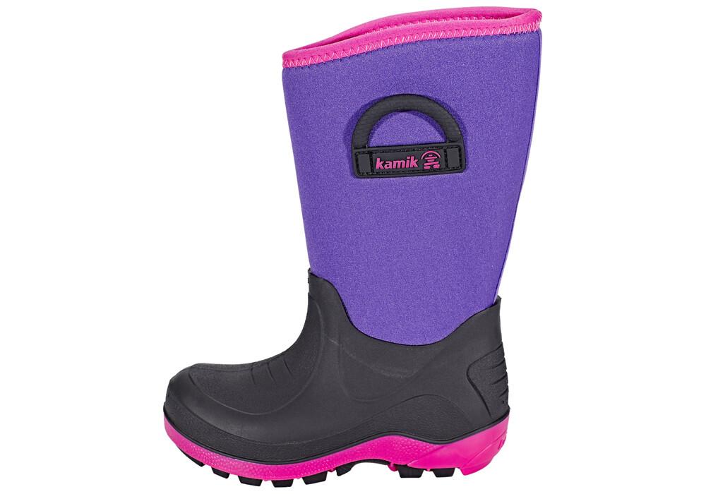 Kamik Bluster Rubber Boots Kids Purple | campz.de
