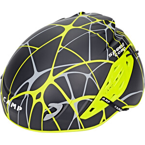 Camp Speed Comp Helm, zwart/geel zwart/geel