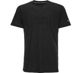 super.natural Essential I.D. T-Shirt Herren Caviar/Print Caviar/Print