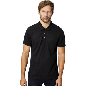 super.natural Comfort Piquet Polo Herren jet black jet black