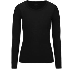 super.natural Scarlett Rib LS 165 Shirt Dam svart svart