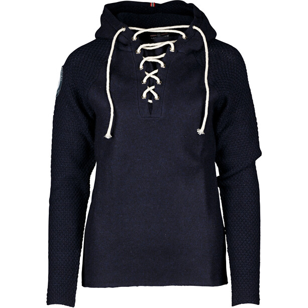 Amundsen Sports Boiled Laced Hoodie Herr faded navy
