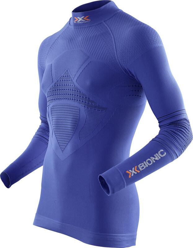 X-Bionic Energizer MK2 Long Sleeve Shirt TN Men Denim/Blue S/M 2018 Unterhemden