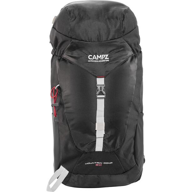 CAMPZ Mountain Comp 20l Rucksack schwarz