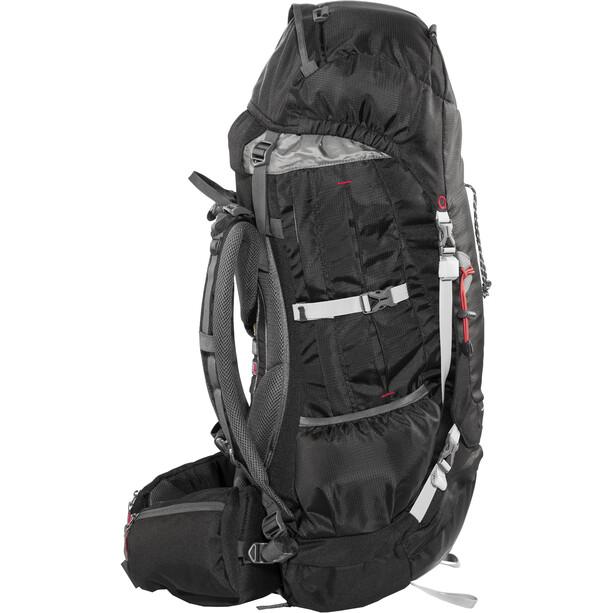 CAMPZ Mountain Pro 42+10l Rucksack schwarz
