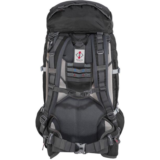 CAMPZ Mountain Pro 55+10l Rucksack schwarz
