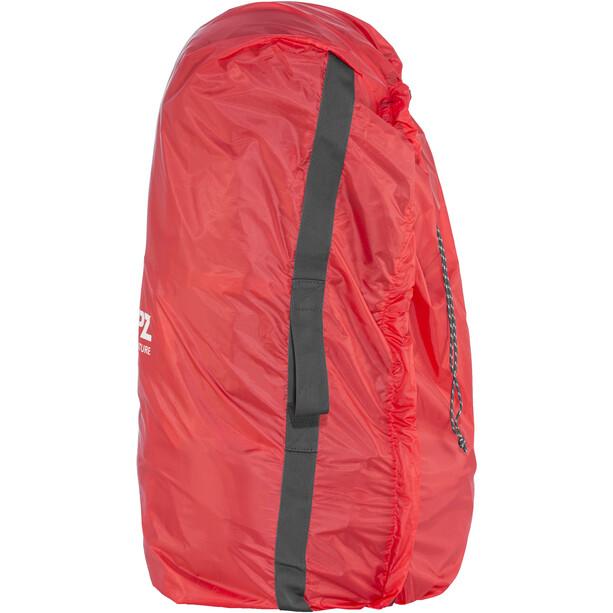 CAMPZ Mountain Pro 55+10l Rucksack schwarz/grau