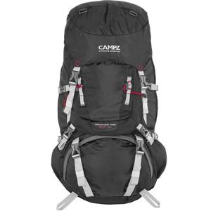CAMPZ Mountain Pro 55+10l Selkäreppu, musta/harmaa musta/harmaa