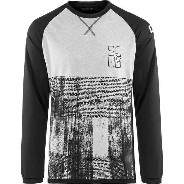 ION Scrub_Amp Langarm T-Shirt Herren black