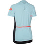 ION Traze Half-Zip Kurzarm T-Shirt Damen crystal blue
