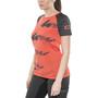 ION Scrub AMP Kurzarm T-Shirt Damen hot coral