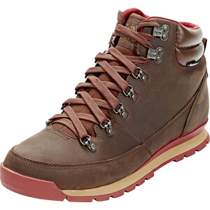 The North Face Back-To-Berkeley Redux Leather Shoes Herr Carafe Brown/Ketchup Red Carafe Brown/Ketchup Red
