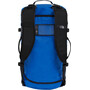 The North Face Base Camp S Duffel Bag Bright Cobalt Blue/TNF Sticker