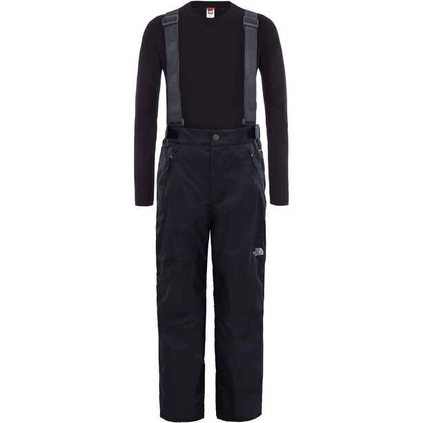 The North Face Snowquest Suspender Plus Waterproof Pants Barn black