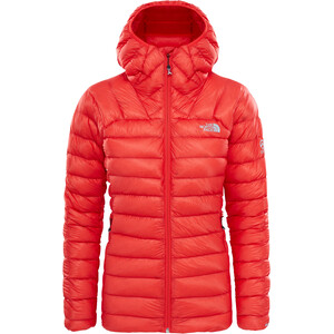 The North Face Summit L3 Down Hoodie Dam fiery red fiery red