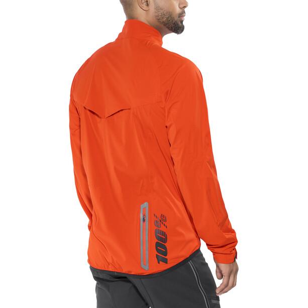 100% Hydromatic Jacke Herren orange