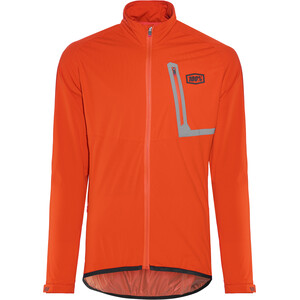 100% Hydromatic Jacke Herren orange orange
