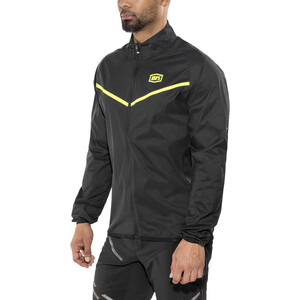 100% Corridor Windbreaker Jacke Herren black/yellow black/yellow