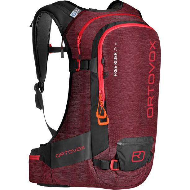 Ortovox Free Rider 22 S Backpack dark blood blend