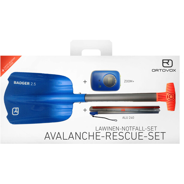 Ortovox Avalanche Rescue Kit Zoom+ blue ocean