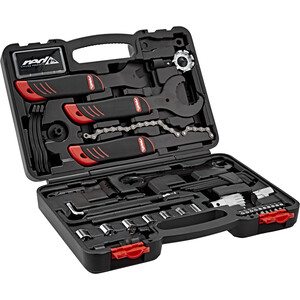 Red Cycling Products Toolbox Værktøjskasse 43 dele