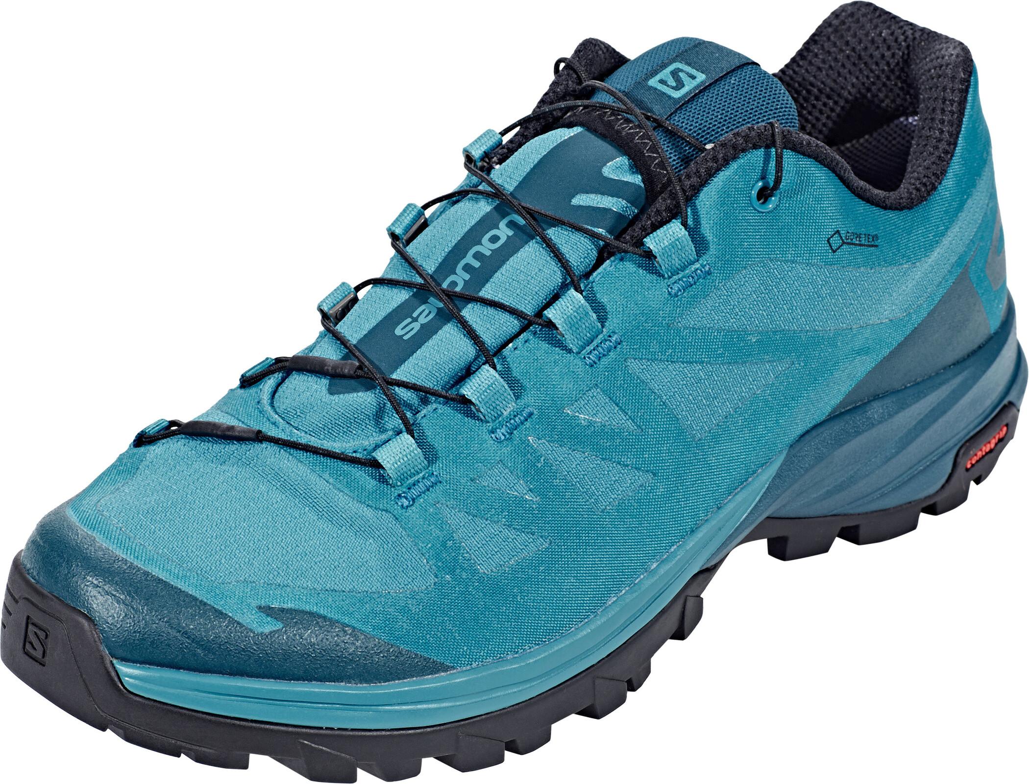 Salomon Outpath GTX Shoes Dam tahitian tidereflecting pondblack