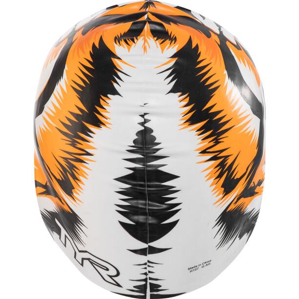 TYR Tiger Cap white/orange