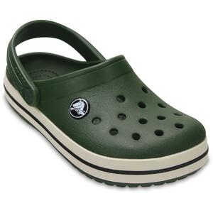 Crocs Crocband Clogs Kinder forest green/stucco forest green/stucco