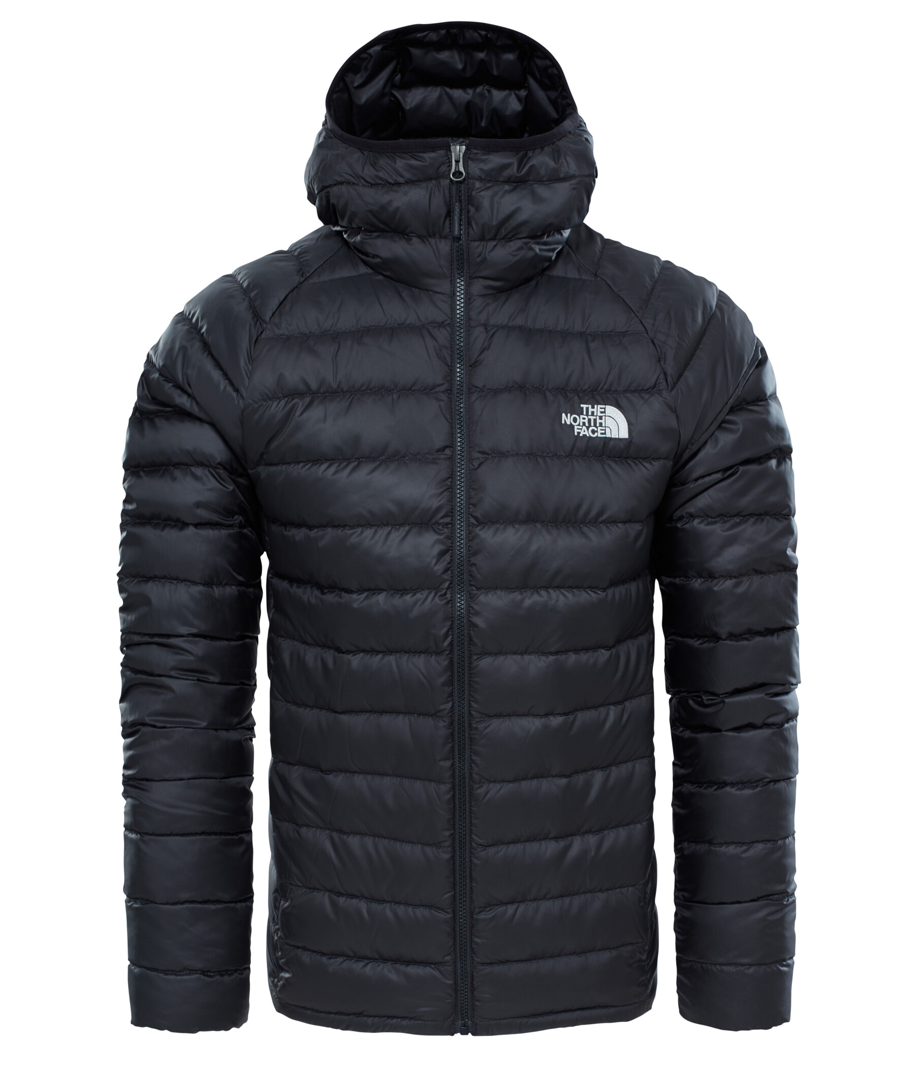 The North Face Resolve Down Hoodie, dunjacka herr Grön