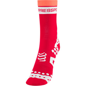 Compressport Pro Racing Ultralight Bike High-Cut Socken red red
