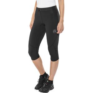 La Sportiva Vortex 3/4 Tights Damen black/grey black/grey