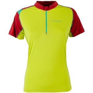 La Sportiva Forward Kurzarmshirt Damen sulphur/berry sulphur/berry