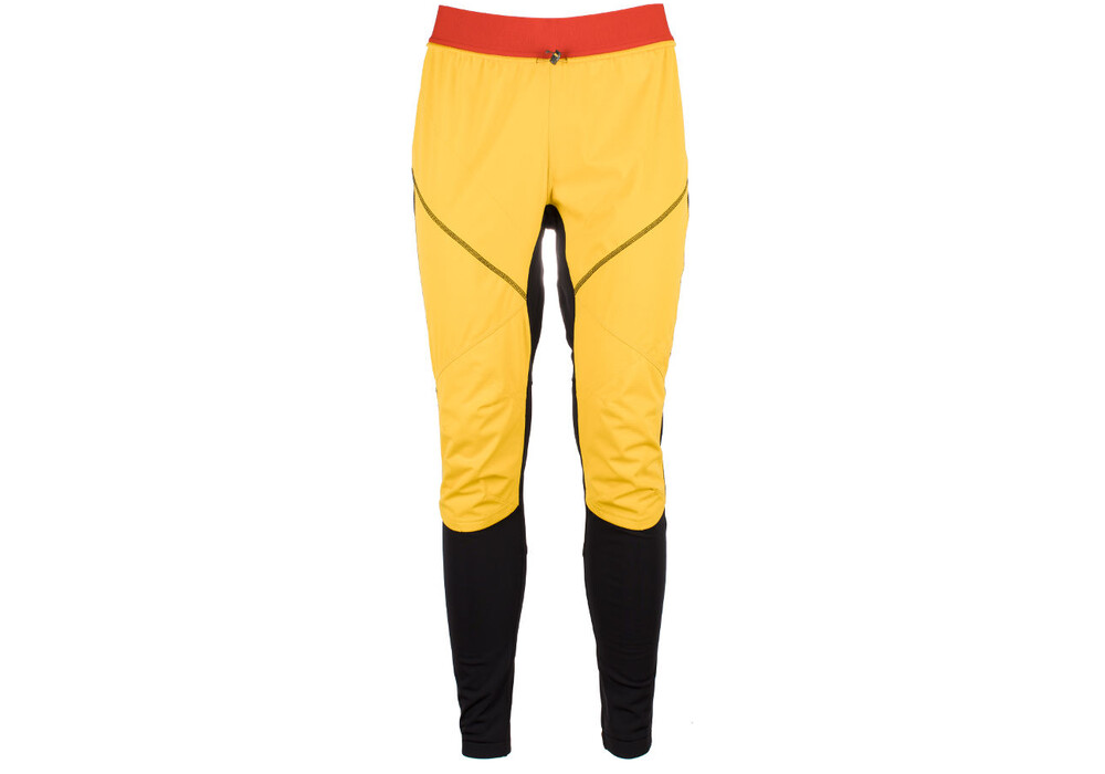 la sportiva argo pantalon running homme jaune noir sur. Black Bedroom Furniture Sets. Home Design Ideas