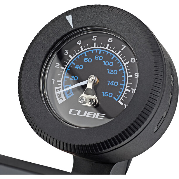 Cube Race Floor Standpumpe black