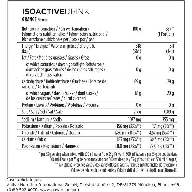 PowerBar Isoactive Isotonic Sports Drink 1320g