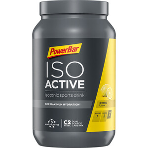 PowerBar Isoactive Isotonic Sports Drink Tub 1320g Lemon