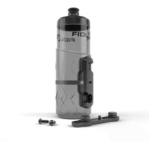 Fidlock Twist Bottle 600 inkl. Halterung schwarz/transparent schwarz/transparent