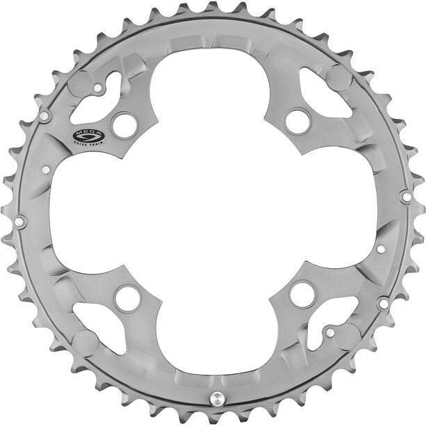 Shimano Deore FC-M590 Plateau 3 x 9 vitesses, gris