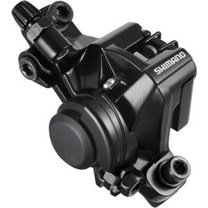 Shimano MTB BR-M375 Pinza de freno de disco, negro negro