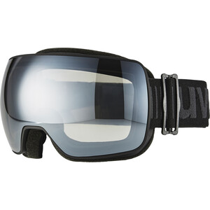 UVEX Compact LM Goggles bl. mat dl/mirror silver bl. mat dl/mirror silver