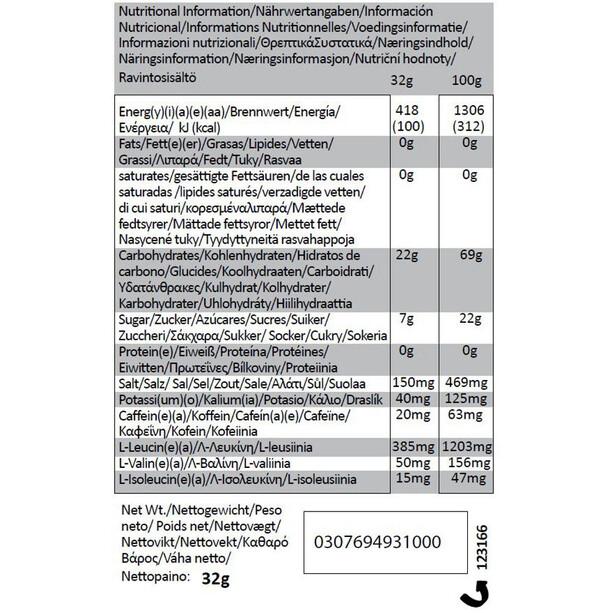 GU Energy Gel Bundle Vorratsbeutel 480g + Gel 3x32g + Flask Vanilla Bean