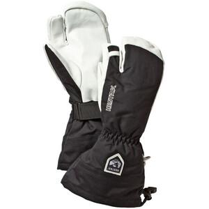 Hestra Army Leather Heli Ski 3 Finger Handschuhe black black