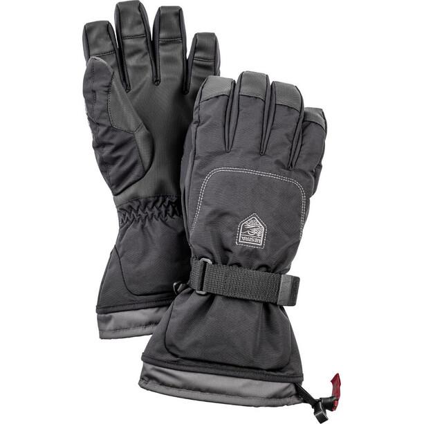 Hestra Gauntlet Sr. 5 Finger Handschuhe black/black