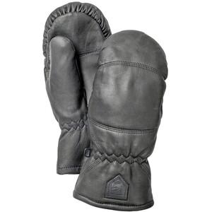 Hestra Leather Box Vingerloze Fietshandschoenen, zwart zwart