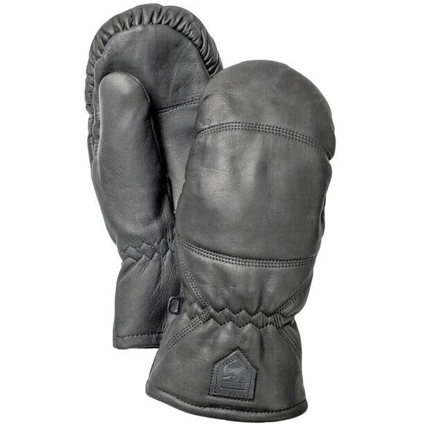 Hestra Leather Box Fäustlinge black