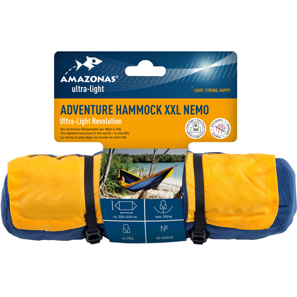 Amazonas Adventure XXL Nemo Leichthängematte