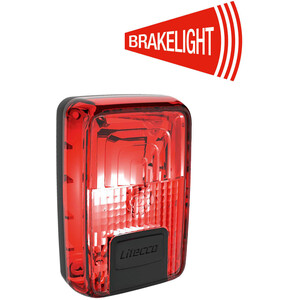 Litecco G-Ray Rearlight with Brake Light Function black/red black/red