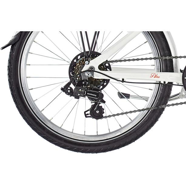 "Puky Skyride 20"" Fahrrad 6-Gang Mädchen weiß"